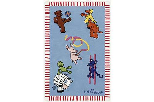 Kinderteppich Die Lieben Sieben - LS-2930-01
