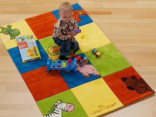 Kinderteppich Die Lieben Sieben - LS-2197-01
