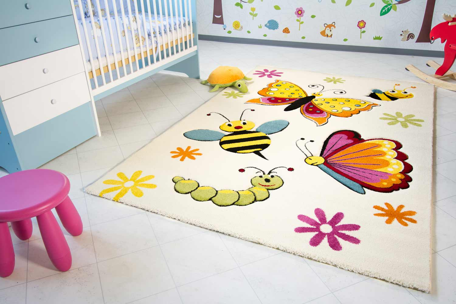 kinderteppich little carpet spring global carpet. Black Bedroom Furniture Sets. Home Design Ideas