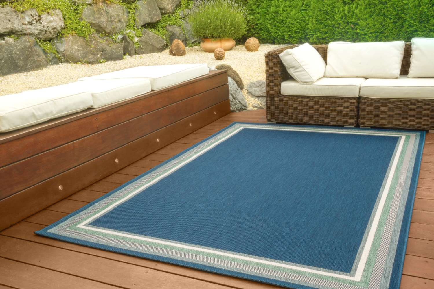 in und outdoor teppich halland global carpet