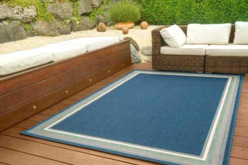 In- und Outdoor Teppich Dalarna Design - Bordüre