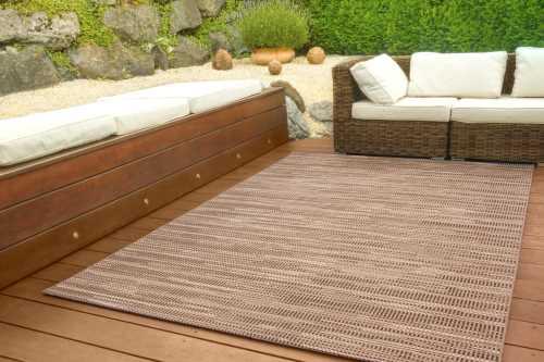 In- und Outdoor Teppich Dalarna Design - Schatten