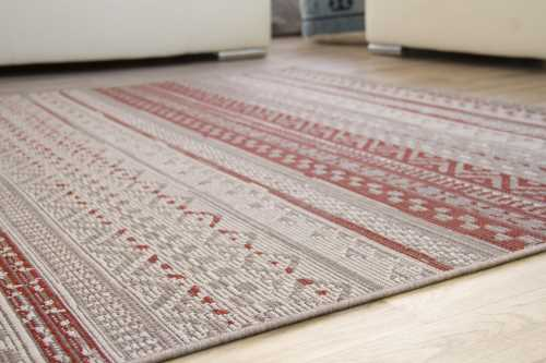 In- und Outdoor Teppich Dalarna Design - Stripes