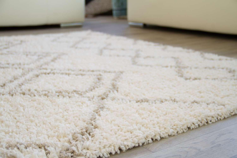 Designer Teppich Modern Fes - Kästchen