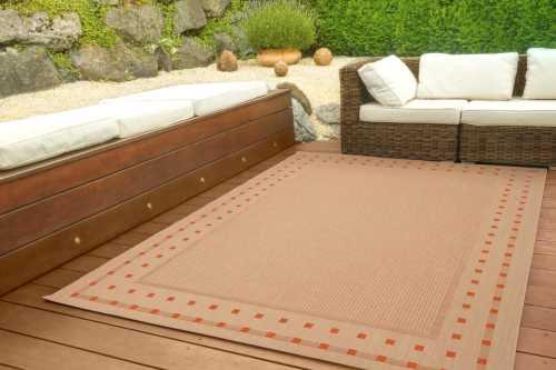 In- und Outdoor Teppich Halland Design - Bordüre