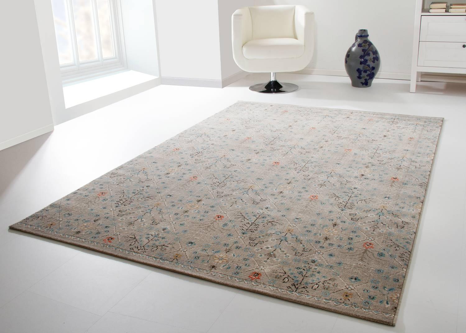 Designerteppich Dami - Floral
