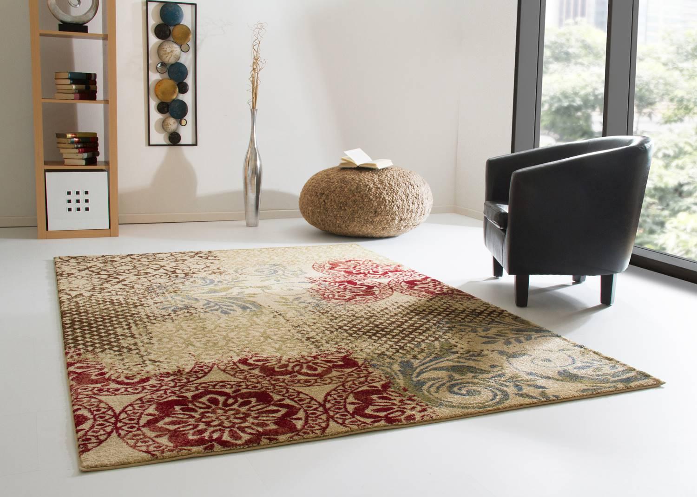 Designerteppich Dschaipur - Floral
