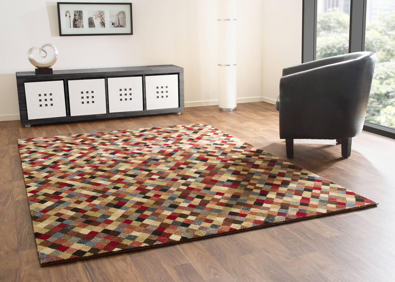 Designerteppich Dschaipur - Mosaik