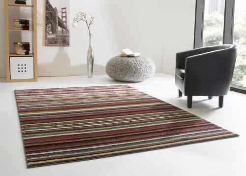 Designerteppich Dschaipur - Streifen