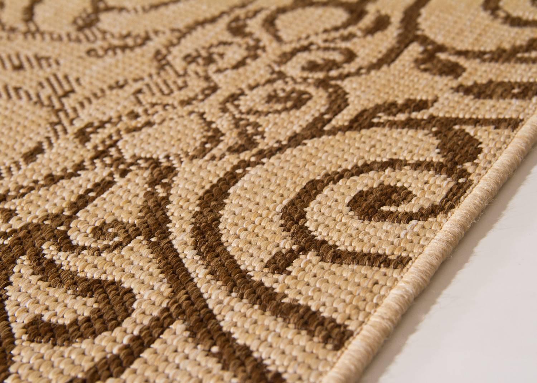 in und outdoor teppich gotland design floral global carpet. Black Bedroom Furniture Sets. Home Design Ideas