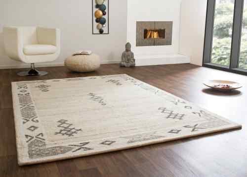Designerteppich Karratha - Bordüre