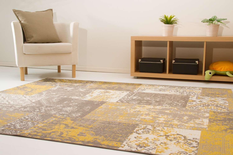 Designerteppich Karthago - Felder