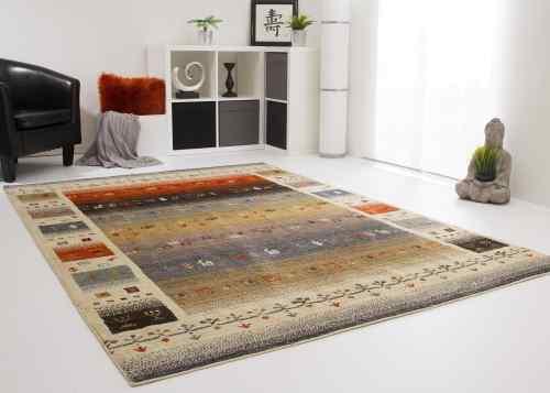 Designerteppich Nari Soft - Felder