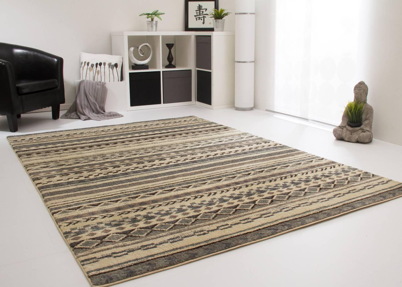 Designerteppich Nari Soft - Streifen