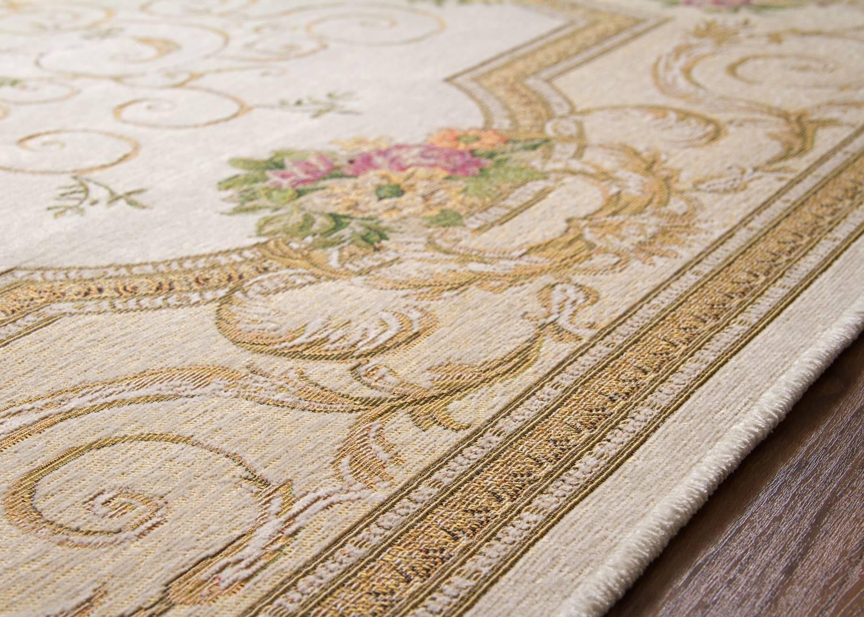 Designerteppich Roccoco - Medaillon