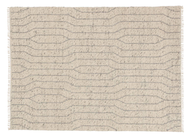 Schöner Wohnen Teppich Sense - Woven Wave Lines