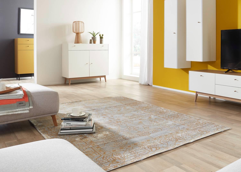Schöner Wohnen Teppich Shining - Faded Mustard