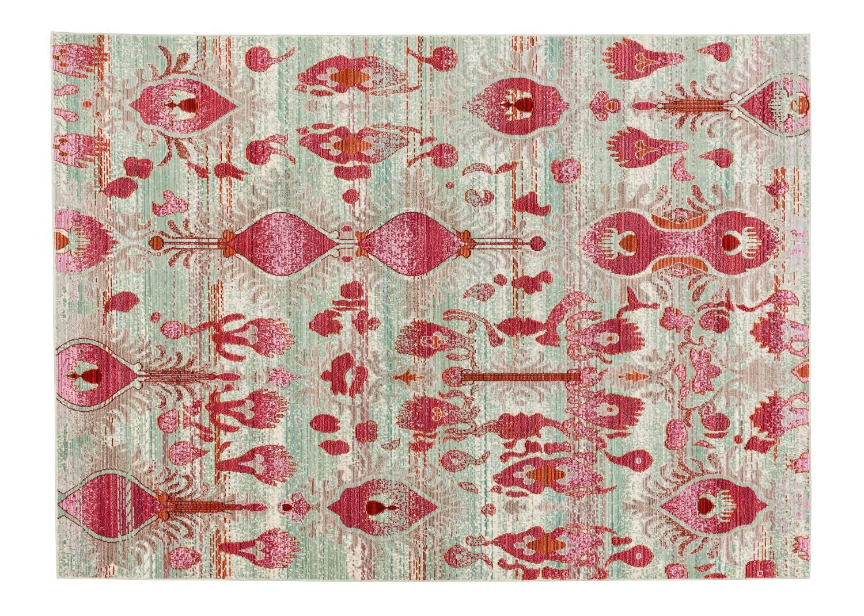 sch ner wohnen teppich shining pink blaze global carpet. Black Bedroom Furniture Sets. Home Design Ideas
