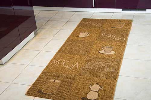 Küchenteppich Creation Lounge - Mocca