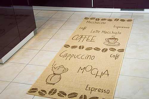 Küchenteppich Creation Lounge - Bohnen