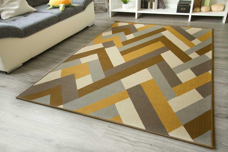In und Outdoor Teppich Gotland Design  Bordüre  global