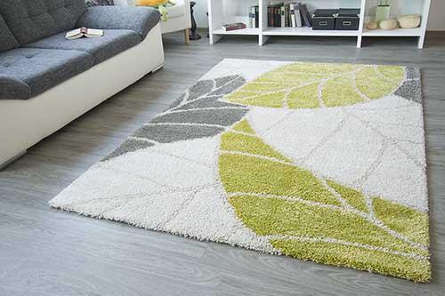 Designerteppich Torino - Blätter