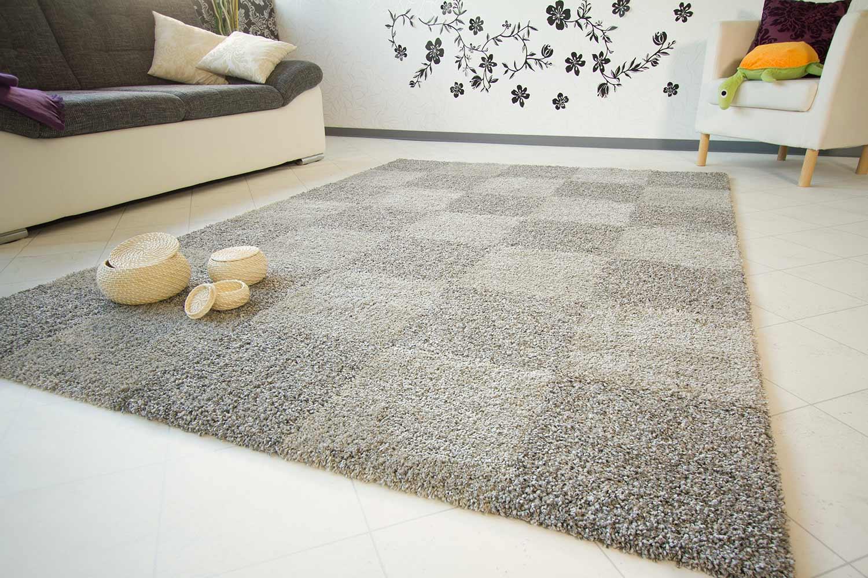 Designerteppich Duplex - Karo