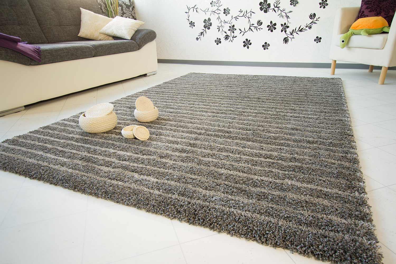 teppich modern grau haus deko ideen. Black Bedroom Furniture Sets. Home Design Ideas