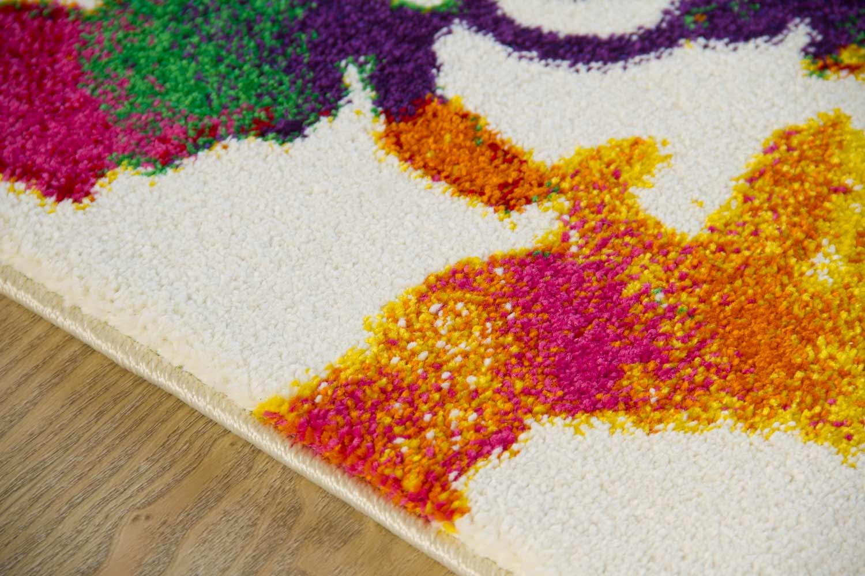 Moderner Designer Teppich Picasso - Flower