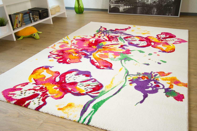 Designerteppich Picasso - Flower