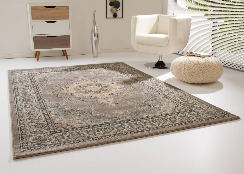 Designerteppich Anamur - Medaillon