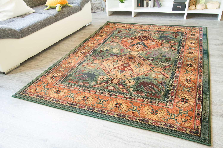 Orientteppich  Designerteppich Gabolo - Felder | global-carpet