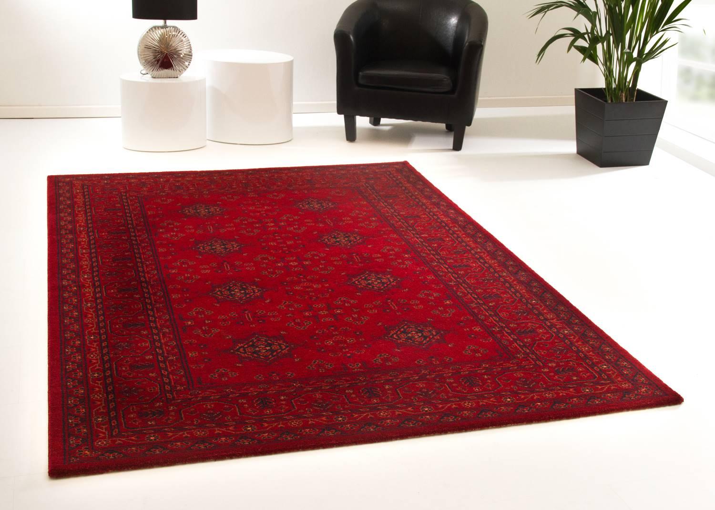 Designerteppich Tripolis - Afghan