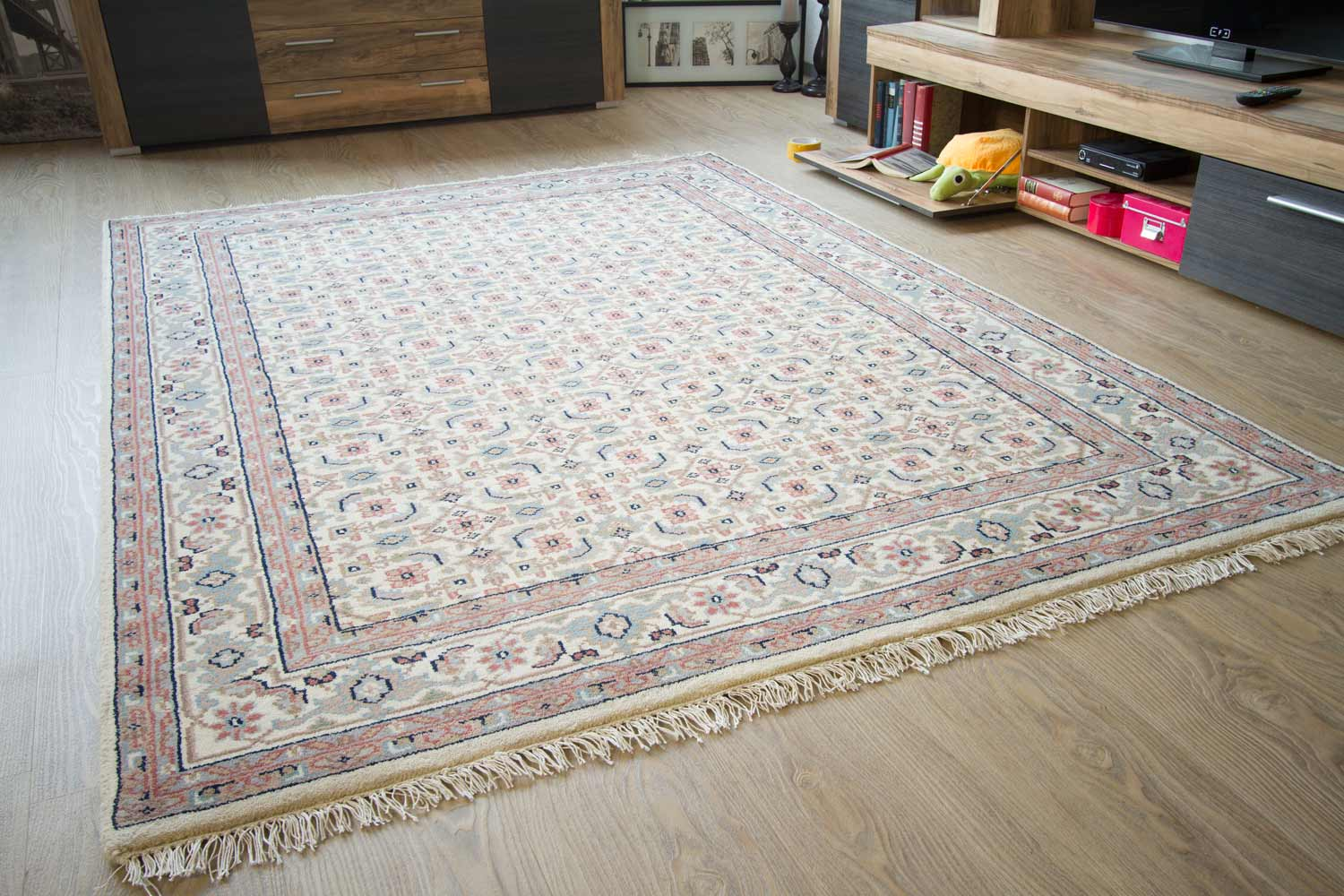 Orientteppich modern blau  Orientteppich Sarough Mir | global-carpet