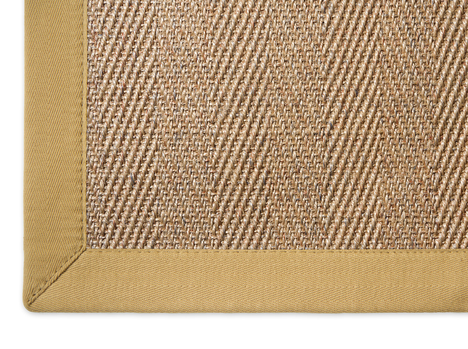 sisal teppich 140x200 sisal teppich manaus natur meliert mit stoffbordre bild with sisal. Black Bedroom Furniture Sets. Home Design Ideas